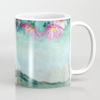 swimming Mugs featuring swimming by Rosa Picnic
