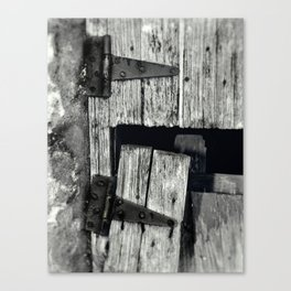 Coming Unhinged Canvas Print