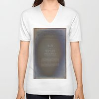 sin city V-neck T-shirts featuring Sin by Jane Lacey Smith