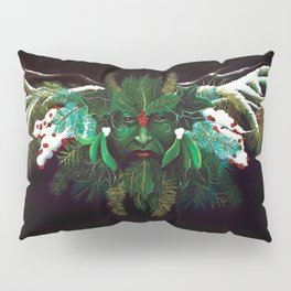Winter Man Pillow Sham