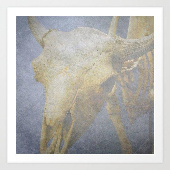 """Mystic Cow"" Art Print"