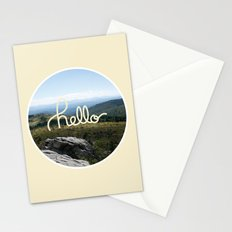 hello world Stationery Cards