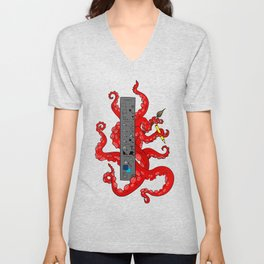 Octopus CS Unisex V-Neck