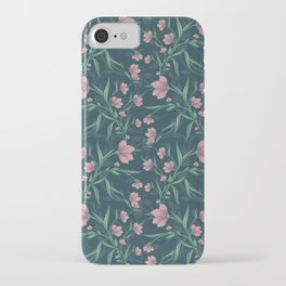 Moody Mystic Florals iPhone Case