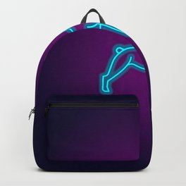 NEON FRENCH BULLDOG DOG Backpack