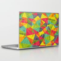 frame Laptop & iPad Skins featuring geo frame by Buster Fidez