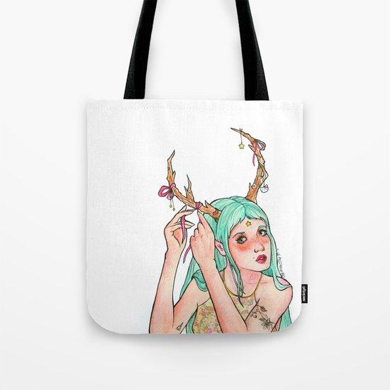 Do you like my antlers? Tote Bag