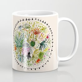 Succulents Mandala Coffee Mug