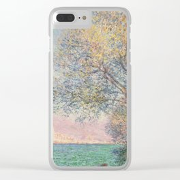 Claude Monet - Antibes In The Morning Clear iPhone Case