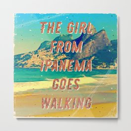 Girl from Ipanema #2 – A Hell Songbook Edition Metal Print