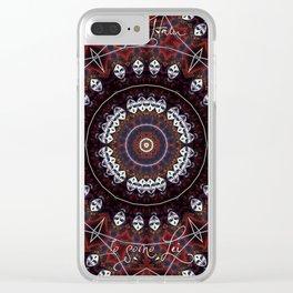 Kali Sa'Ham Clear iPhone Case