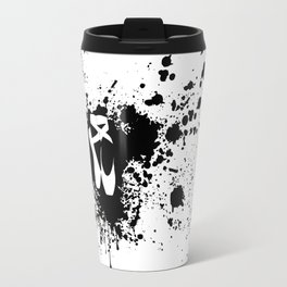 Ballet Slipper Splatter Painting Travel Mug