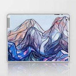 abstract landforms Laptop & iPad Skin