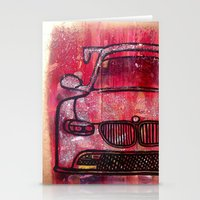 bmw Stationery Cards featuring BMW VIBES by Chantal S Goulet | Goulet ArtFusion
