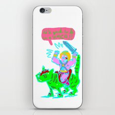 Masters of the universe of love 1 iPhone & iPod Skin