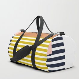 Marfa Abstract Geometric Print Duffle Bag