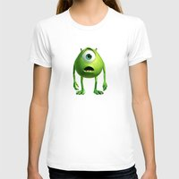 monster inc T-shirts featuring Monster Inc Mike by Veylow
