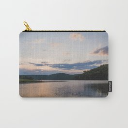 Midwest Sunrise Over the Lake Carry-All Pouch