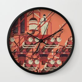 SKINWALKER Art 3 Wall Clock