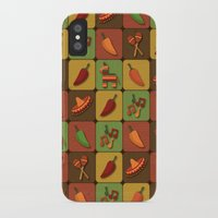 mexican iPhone & iPod Cases featuring Mexican Squares by Matt Andrews