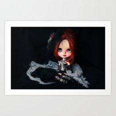Blythe Royal Soliloquy doll Art Print
