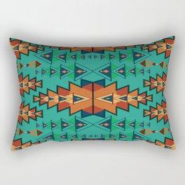 Indian Designs 255 Rectangular Pillow
