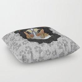 Zeke - mountain dog Floor Pillow