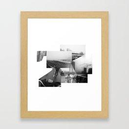 Cykeltur Framed Art Print