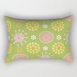 Lime Deco Rectangular Pillow