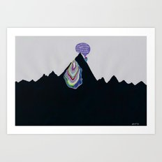 Caveat Emptor, Oh, Summit Seeker (or, Thanks for the Bucket List, ehow.com) Art Print