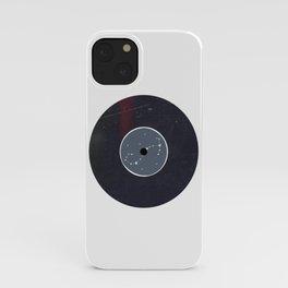 Vinyl Record Zodiac Sign Scorpio iPhone Case