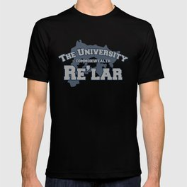 The University: Re'lar - The Name of the Wind T-shirt