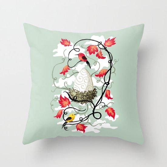 Nest 2 Throw Pillow