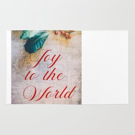 Joy to the World 2 Rug
