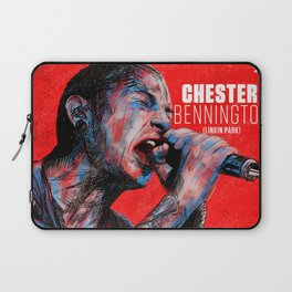 homenaje a chester LP Laptop Sleeve