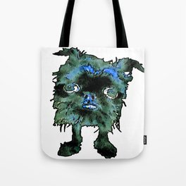 Lugga The Friendly Hairball Monster For Boos Tote Bag
