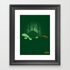 Be Proud of Who You Are - ( TMNT Turtle ) Framed Art Print