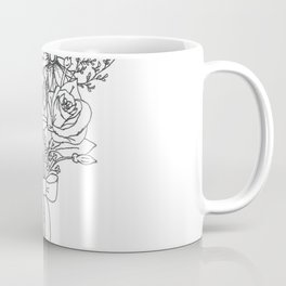 chlorophyll clots (white) Coffee Mug