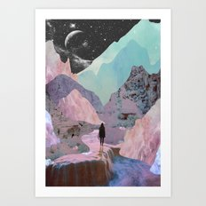 The Mountains of Lemuria Art Print