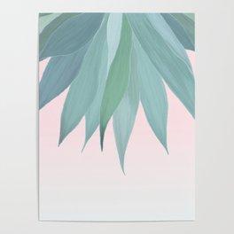 Delicate Agave Fringe Illustration Poster