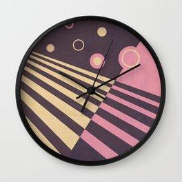Moving Forward II Wall Clock