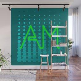 Word Art - Am Wall Mural