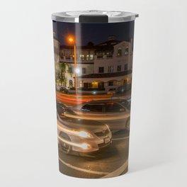 Night Traffic Travel Mug