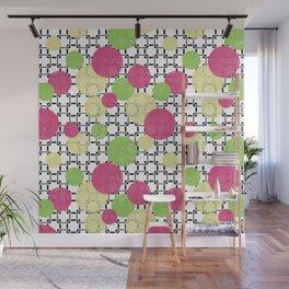 Fashion trends , polka dot Wall Mural