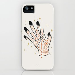 Sleight of Hand iPhone Case