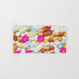 Pills (Color) Hand & Bath Towel