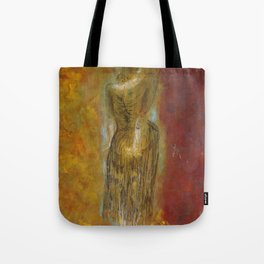 womanJapanese painting Tote Bag