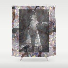 Gems and Gauze Shower Curtain