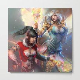 Fantasy girls Metal Print