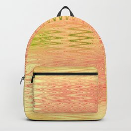Textile- yellow Backpack